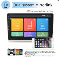 10.1 Android9.1 Voiture Stéréo Radio Gps Navi Mp5 Player Double 2din Wifi Quad Core