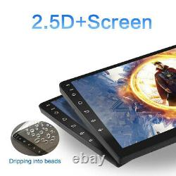 10.1 Android 10.1 Double 2 Din Voiture Stereo Radio Lecteur Gps Fm Wifi Écran Tactile