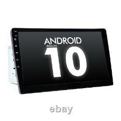 10.1 Android 10 Double 2din En Dash Car Gps Navigation Stéréo Radio Obd2 Usb Sd