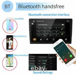 10.1 Android 10 Voiture Stereo Radio Gps Navi Lecteur Mp5 Double 2din Wifi 2+32gb