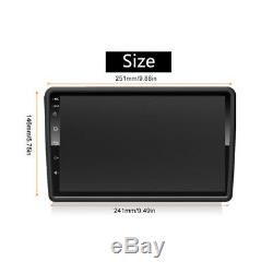 10.1 Android 8.1 DVD Car Stereo Double Din Radio 8-core Gps Wifi Ram2g Rom32g