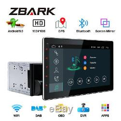 10.1 '' Android 9.0 Double 2din Radio Player Autoradio Gps Navi Wifi Bluetooth