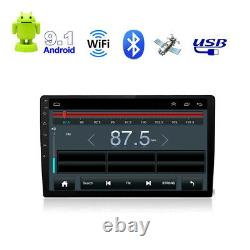 10.1 Android 9.1 16gb +2 Go Double 2 Din Car Radio Stereo Quad Core Gps Navi Wifi