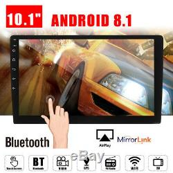 10.1 Android 9.1 Car Stereo Radio Gps Navi Double 2 Din Mp5 No Lecteur DVD Wifi