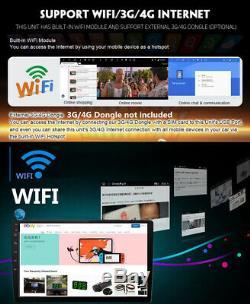 10.1 Android 9.1 Double 2din Car Mp5 Gps Wifi Radio 2 Go + 32 Go Universal