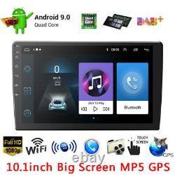 10.1 Android 9.1 Voiture Stereo Radio Gps Navi Double 2 Din Mp5 No DVD Player Wifi