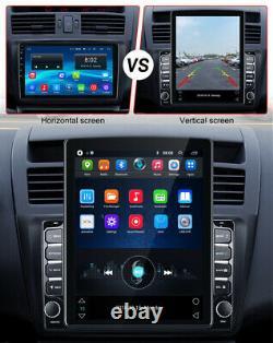 10.1 Double 2 Din De Voiture Stereo Radio Android 9.0 Gps Wifi Écran Tactile Vertical