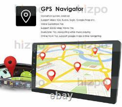 10.1 Double 2din Android 10 Car Radio Audio Stereo Gps Navi Bluetooth 2+32 Go E