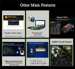 10.1 Double 2din Head Unit Hd Car Stereo Radio Android 9.1 Quad-core Wifi Gps
