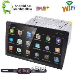 10.1 Double 2din Voiture Android 6.0 Radio Stéréo Sans Lecteur De DVD 4g Wifi Gps Caméra