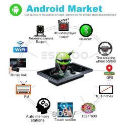 10.1 Double Din Android 9.1 Voiture Stéréo Mp5 Player Gps Navi Wifi Usb + Caméra