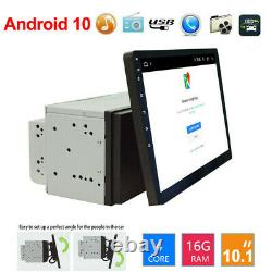 10.1 Écran Tactile Android 10 Auto Radio Stereo Gps Wifi Double 2din Mp5 Player
