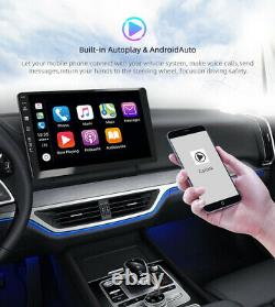 10.1 Ips Android 10.0 2 Din Autoradio Stereo Gps Unité De Tête Obd Dab Aux 4gb+64gb
