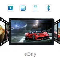 10,1 Pouces Android 9.1 Double 2 Din Car Radio Stereo Quad Core Gps Navi Set Wifi