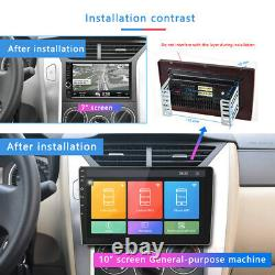 10,1 Pouces Android 9.1 Double 2 Din Car Radio Stereo Quad Core Gps Navi Wifi Us