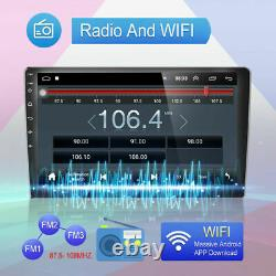 10.1'' Voiture Écran Stereo Gps Navi Wifi Android 10 Double 2din Radio Lecteur Mp5