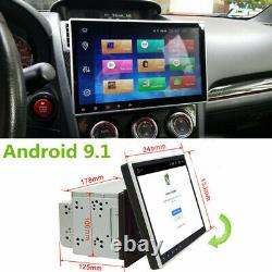 10.1 Voiture Stereo Radio Gps Android 9.1 Double Din Quad-core 2go Et 32 Go Wifi 3g 4g