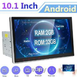 10.1double Din Android 10.0 Voiture Stereo DVD / CD Chef Unité Gps Sat Nav Car Play