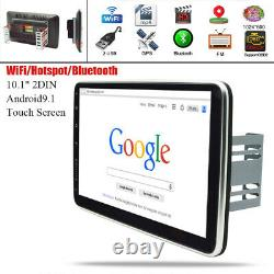10.1in Double 2din Android 9.1 Voiture Stereo Radio Wifi Gps De Navigation Chef D'unité Fm