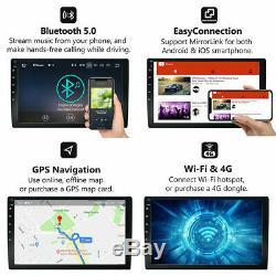10 Android 9.1 Double Din Au Tableau De Bord Stéréo Voiture Radio Lecteur Gps Navigation Wifi