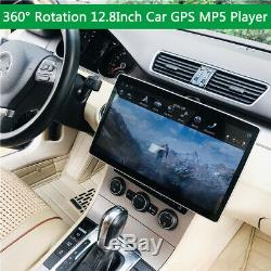 12,8 '' Double Din Car Stereo Bluetooth Écran Tactile Mp5 Fm Carplay Android