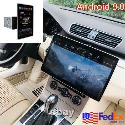 12,8 Pivotée '' Inch Double Din Android 9.0 Voiture Radio Mp5 Gps Navi Carplay