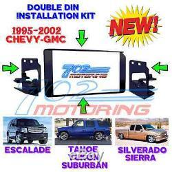 1995 2002 Gm Full Size Truck & Suv Double Din Voiture Installation Stéréo Kit Dash