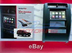 1997 2001 Jeep Grand Cherokee Double Din Installation Stéréo Voiture Dash Bezel Kit