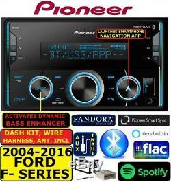 2004-2016 Ford F150 / 250/350 / 450/550 Bluetooth Usb Aux Car Radio Stéréo Emb