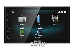 2009-14 Écran Ford F150 Kenwood Bluetooth Usb Mirror Package Stereo Radio Voiture