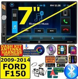 2009-14 Ford F150 Bluetooth Usb Sd Système Stéréo Radio Car Package