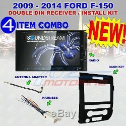 2009-14 Ford F150 Soundstream Écran Tactile Bluetooth Usb Car Radio Stéréo Emb Nouveau