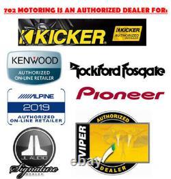 2009-2012 Dodge Ram Double Din Dvd/bluetooth Dash Kit Voiture Stereo Radio Pkg