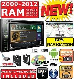 2009-2012 Dodge Ram Pioneer Navigation Double DVD Radio Radio Stéréo Bluetooth Bt