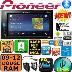 2009-2012 Dodge Ram Truck Bluetooth Touchscreen Usb Aux Autoradio Stéréo