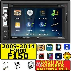 2009-2014 Ford F-150 CD / DVD Bluetooth Usb Aux Sd Car Package Radio Stereo