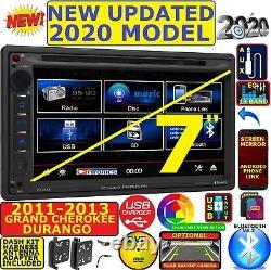 2011-2013 Grand Cherokee & Durango DVD CD Bluetooth Car Truck Suv Radio Stereo