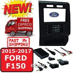 2015-17 Ford F150 Metra 99-5834ch Double Din Car Radio Dash Kit Avec Panneau A/c