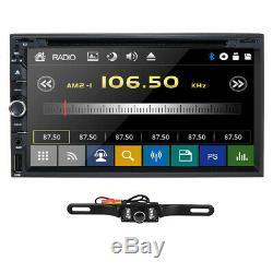 2020 Objectif Sony Double 2din 7car Stéréo Radio Lecteur DVD Dash Bt Mp3 + Camera