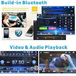 2 Din Car Stereo Radio Lecteur Android Bt Mirror Lien Wifi Gps Hd Et Caméra Arrière