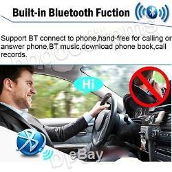 2din En Dash CD Hd Bluetooth Stéréo Voiture Radio Lecteur Mp3 Aux Mirrrorlink Pour Gps