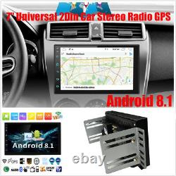 32 Go 7 Pouces Android 9.1 Double 2 Din Car Stereo Gps Navi Touchscreen Fm Radio