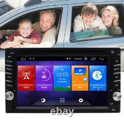6.2 '' Android 10.0 Wifi Double 2din Radio Stéréo Car Gps Navi CD Lecteur De DVD Swc