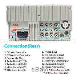 6.2 Car CD Lecteur DVD Stéréo Radio Gps Navi Écran Tactile Usb Aux 2 Double Din