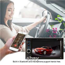 6.2 Double 2 Din Audio Dans Dash Stereo Car Bluetooth Radio DVD CD Mp3 Lecteur Usb