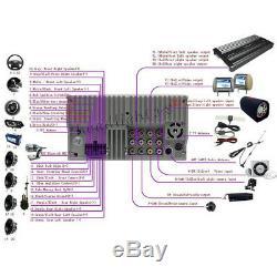 6.2 Double 2 Din Car Stereo Hd CD Lecteur DVD Bluetooth Radio Avec Caméra De Recul