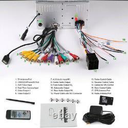 6.2 Double Din Gps Sat Nav Car Radio 3g Bluetooth Usb Aux CD DVD Player Stereo