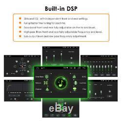 6.2 Lecteur DVD De Voiture Double Din Gps Navi Dans Radio Stéréo Dash Android 9.0 Usb 4g