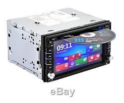 6.2 '' Navigation Gps Double 2din Autoradio Lecteur DVD CD Bluetooth Auto Radio