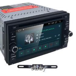 6.2 Pouces Android 9.0 Wifi Double 2din Car Radio Stéréo DVD 4g Lecteur Caméra Gps +